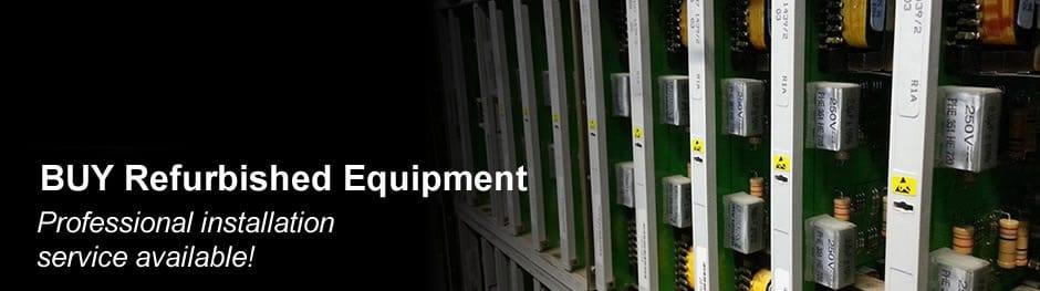 Refurbished telecom equipment