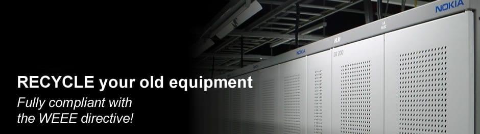 Recycle telecom equipment