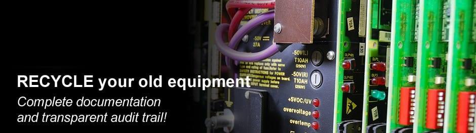 RECYCLE surplus telecom equipment