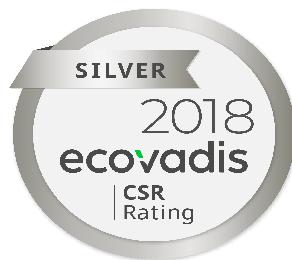 Ecovadis Silver 2018